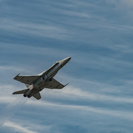 by Jan Gorzynik - Transportation Airplanes ( aerospace, f-18, airforce, technology, speed, hornet )