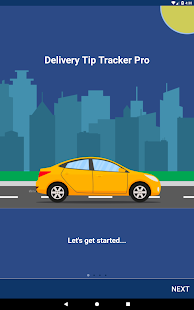Delivery Tip Tracker Pro Screenshot