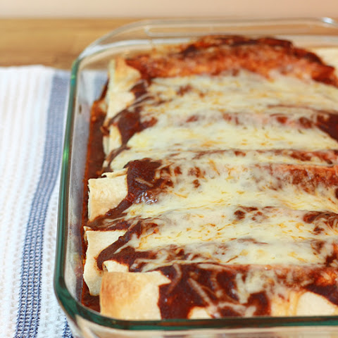 Chicken and Spinach Enchilada