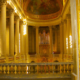 beautiful French church  by Lena Block - Buildings & Architecture Places of Worship ( history, old, church, golden, pillars,  )