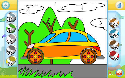 Vehicles and Cars Coloring - screenshot