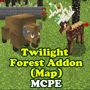 Twilight Forest Addon (Map) for MCPE