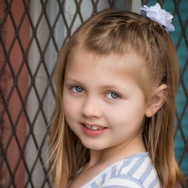 spring portrait by Judy Deaver - Babies & Children Child Portraits ( blue, portrait )