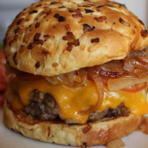 3 Cheese Stuffed Ranch Burgers