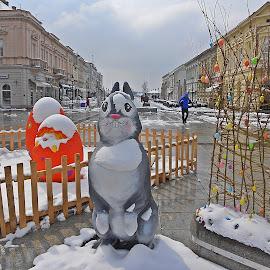 Easter by Bojan Dobrovodski - Public Holidays Easter ( winter easter )