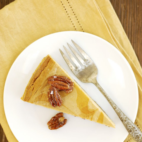 Siggi's Marbled Pumpkin Cheesecake