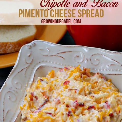 Bacon and Chipotle Pimento Cheese Spread