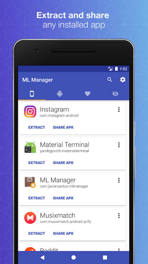 ML Manager Pro: APK Extractor Screenshot