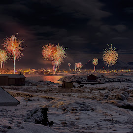 Andenes 2017-2018 by Rune Nilssen - Public Holidays New Year's Eve ( k3, new, winter, andenes, pentax, year, nordland, norway )