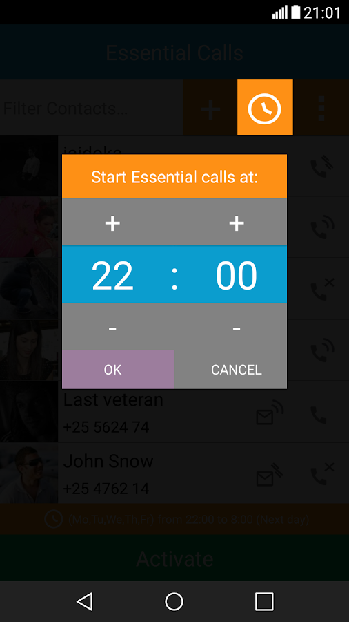 Essential Calls Lite Screenshot 6