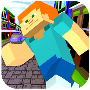 Game 3d craft block square surf run apk for kindle top for Block craft 3d games
