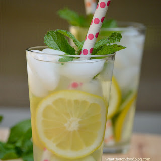 Cucumber, Lemon and Mint Infused Water