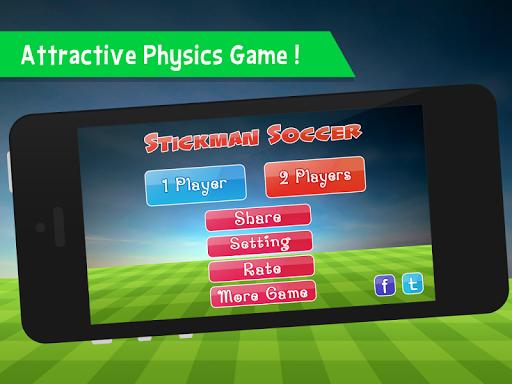 Stickman Bouncy Soccer - screenshot