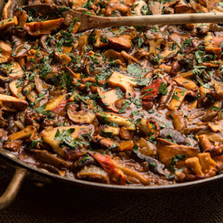 Fresh and Wild Mushroom Stew