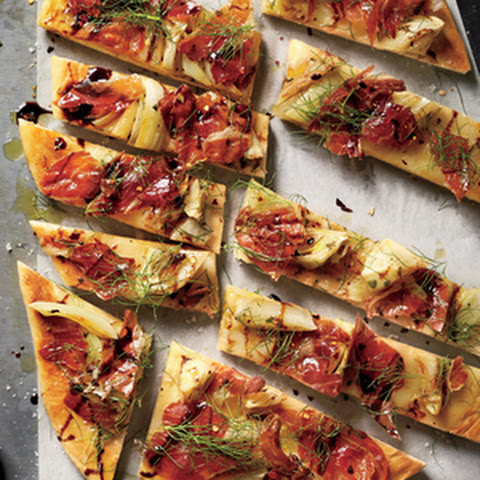 Roasted Fennel-and-Prosciutto Flatbread