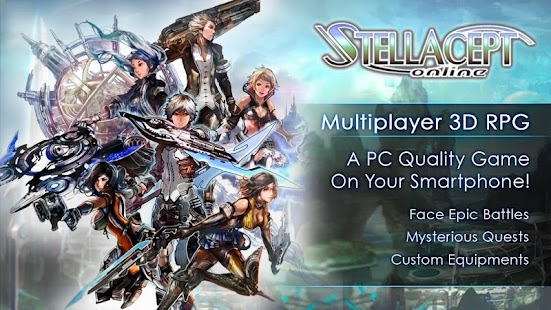 Download [SF]Stellacept Online[MMORPG] APK to PC