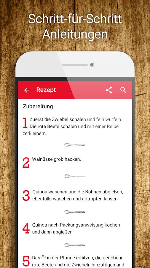 Rezepte bild der frau android apps download - Android app ideen ...