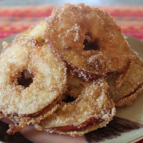Cinnamon Sugar Fried Apples