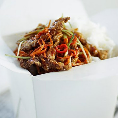 Stir-fry Crispy Shredded Beef With Carrot