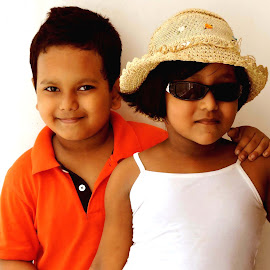 DAKSH AND RAI by SANGEETA MENA  - Babies & Children Children Candids