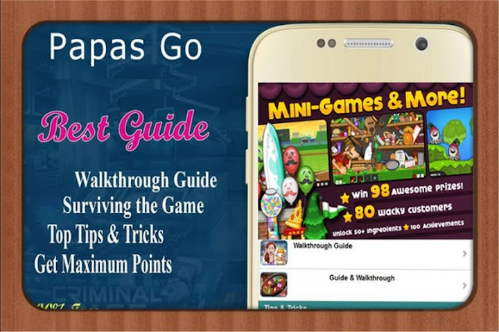 android RP Guide for papas freezeria Screenshot 1