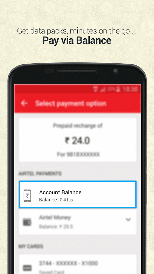 Mobile Recharge & Pay Bill Screenshot 2