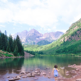 Maroon Bells Colorado by Bhukya Deepika - Babies & Children Children Candids ( nature up close, maroon bells, colorado, trees, photography )