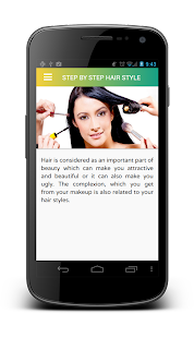 HairStyle: Step by Step - screenshot