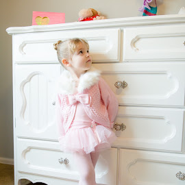 Heading to Ballet by Kellie Jones - Babies & Children Children Candids