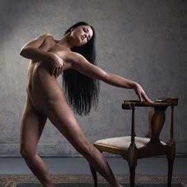 This is a Chair by Dennis Bater - Nudes & Boudoir Artistic Nude