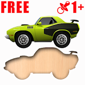 Car puzzle game for kids
