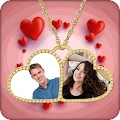 Love Locket Photo Frame APK for Bluestacks