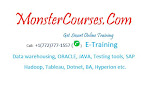 Online Coaching on IT Courses at Monstercourses