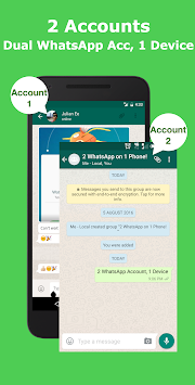 Multi Messenger For WhatsWeb APK screenshot thumbnail 1