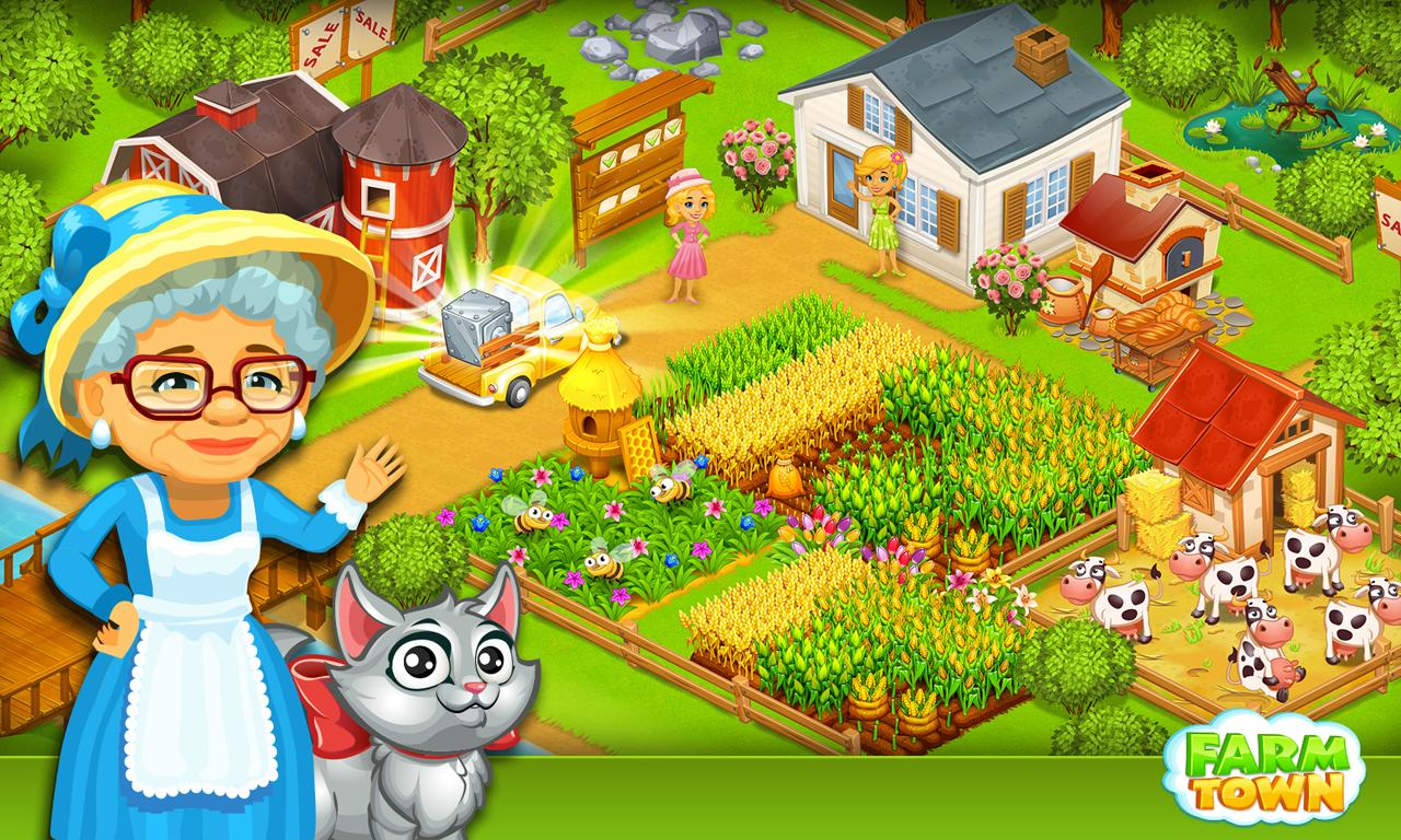 Farm Town:Happy City Day Story Screenshot 5