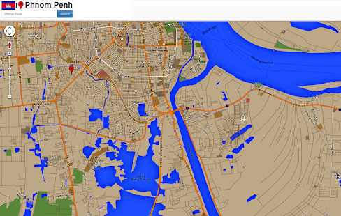 Phnom Penh maps - screenshot