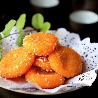 Fried Red Bean Cake Recipes