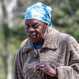 The Gullah Lady by Mike Watts - People Street & Candids ( story teller, gullah, woman )