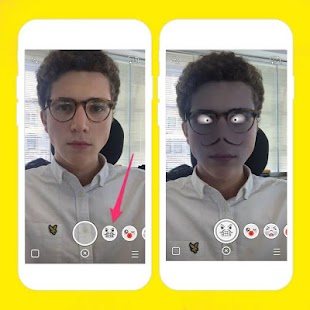 Lenses effect for snapchat - screenshot