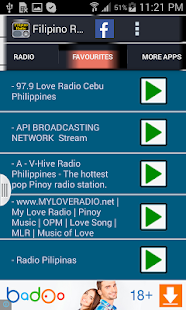 Filipino Radio - screenshot