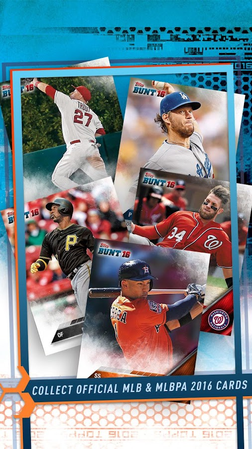 MLB BUNT: Baseball Card Trader Screenshot 1