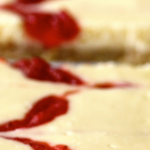 Strawberry Cheesecake Bars with Homemade Fresh Strawberry Jam #Creative Cookie Exchange