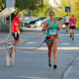 FRIEND by Zeljko Sajko-Saja - Sports & Fitness Running ( pas, životinja, sport, prijatelj, trčanje )