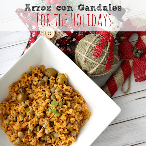 Arroz Con Gandules Rice