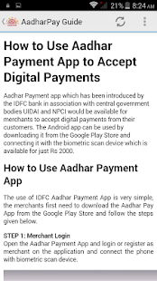 Adhaar Pay- screenshot thumbnail