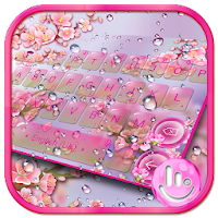 Pink Sakura Flower Keyboard Theme on PC / Windows 7.8.10 & MAC