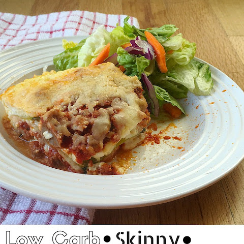 Zucchini Lasagna with Turkey and Cottage Cheese