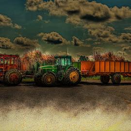 Sugarcane equipment by Ron Olivier - Digital Art Things ( sugarcane equipment )