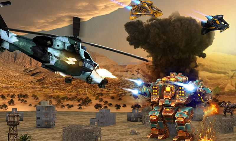 Copter vs Aliens Screenshot 1