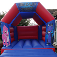 DINOSAURS BOUNCY CASTLE FOR HIRE